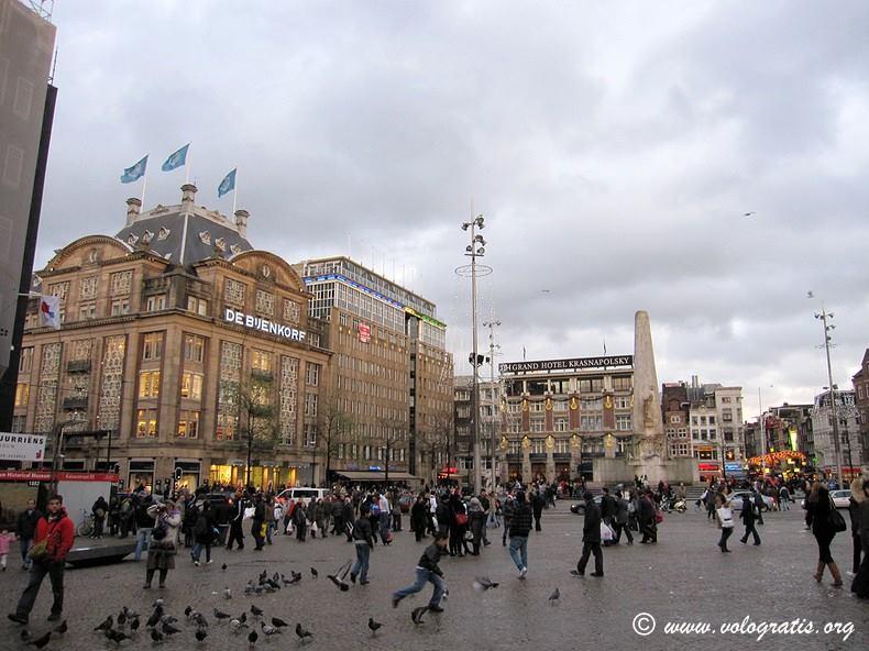 piazza dam amsterdam