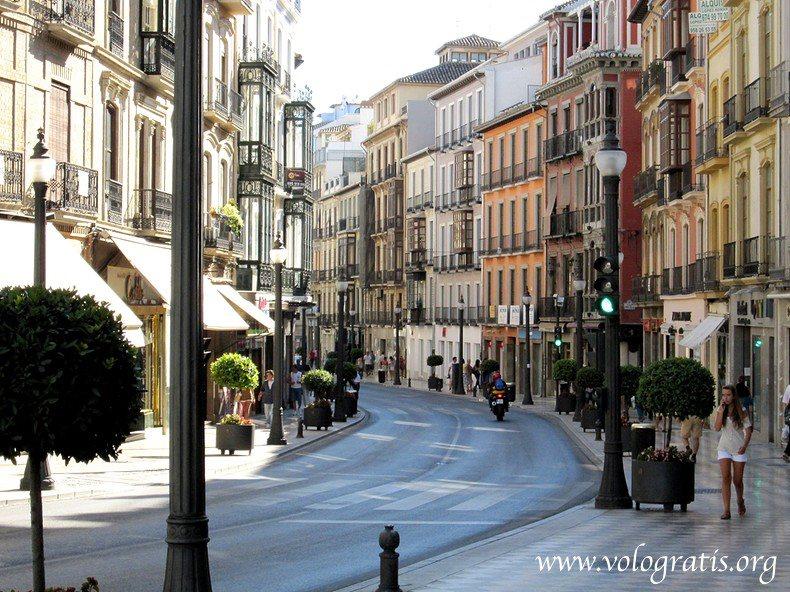 calle reyes catolicos granada