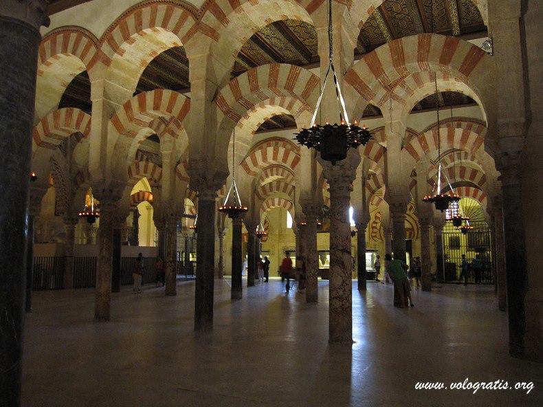 mezquita interno
