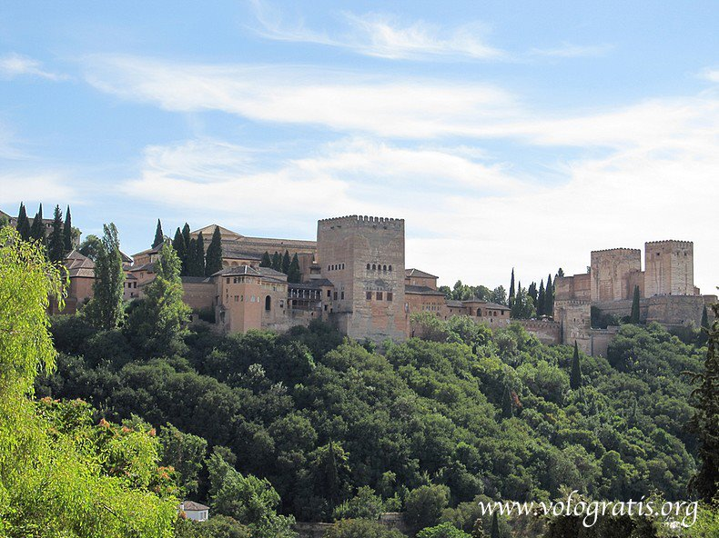 panorama su alhambra