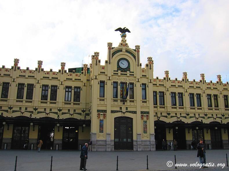 diario di viaggio a valencia stazione