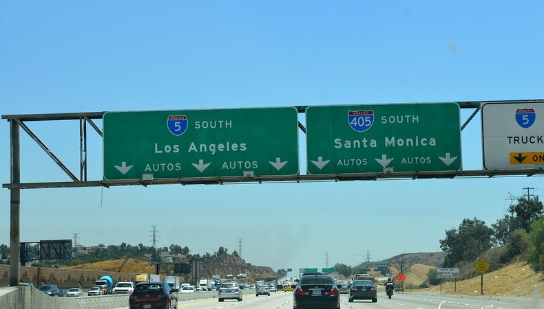 viaggio a los angeles