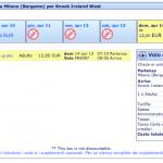 Tantissimi biglietti aerei Ryanair a € 12 tutto compreso