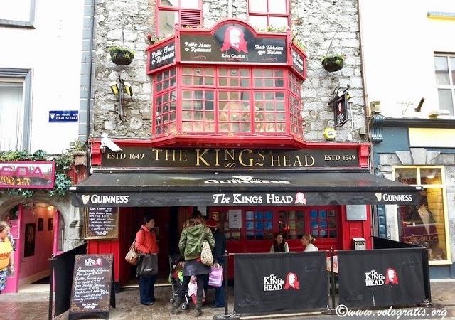 the kings head pub galway