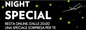 codice sconto night special alitalia luglio 2013