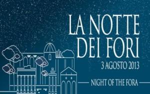 la notte dei fori roma