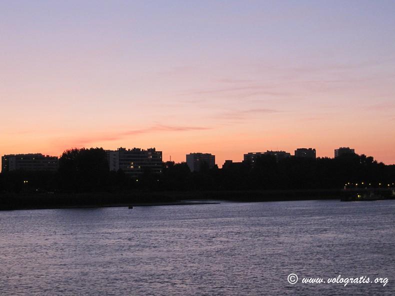 tramonto schelda anversa