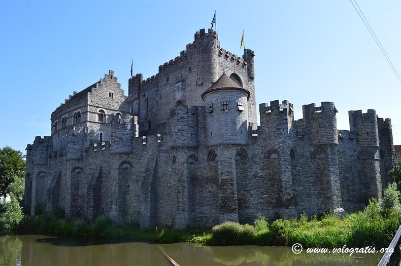 luoghi da visitare a gent castello dei conti di fiandra