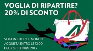 weekend deal alitalia agosto