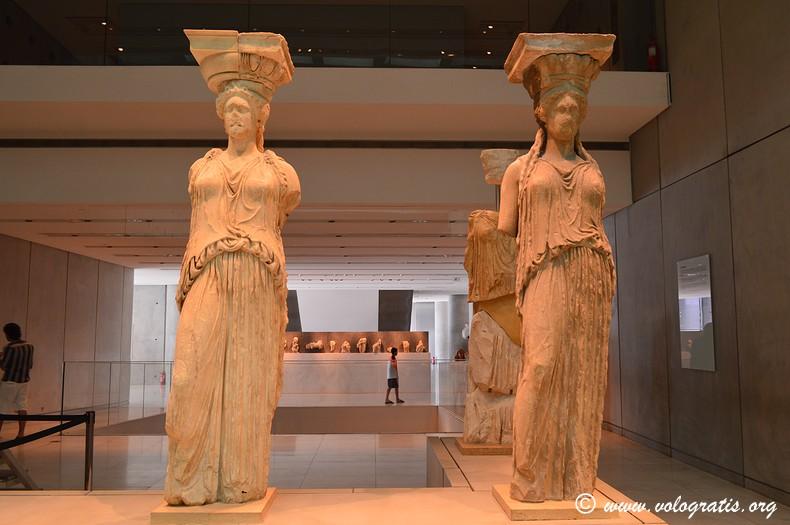 viaggio ad atene cariatidi museo acropoli