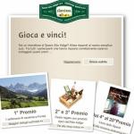 Concorso per vincere una settimana di vacanza in Alto Adige