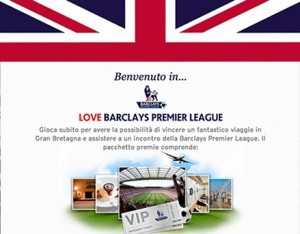 concorso love barclays premier league