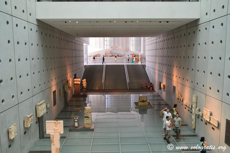 viaggio ad atene museo acropoli