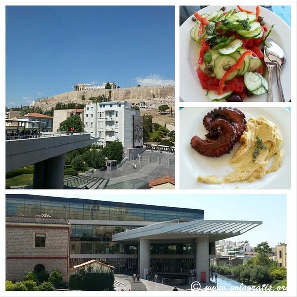 pranzo museo acropoli viaggio ad atene