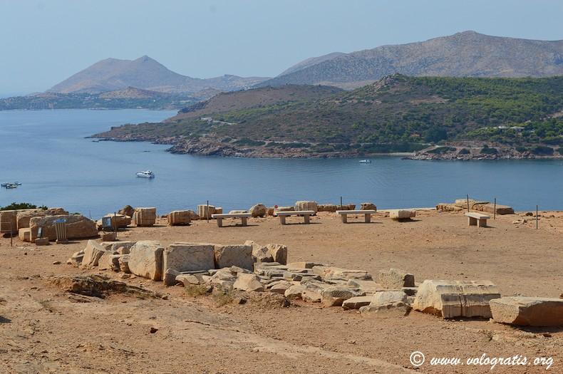 resti tempio di poseidone capo sounio
