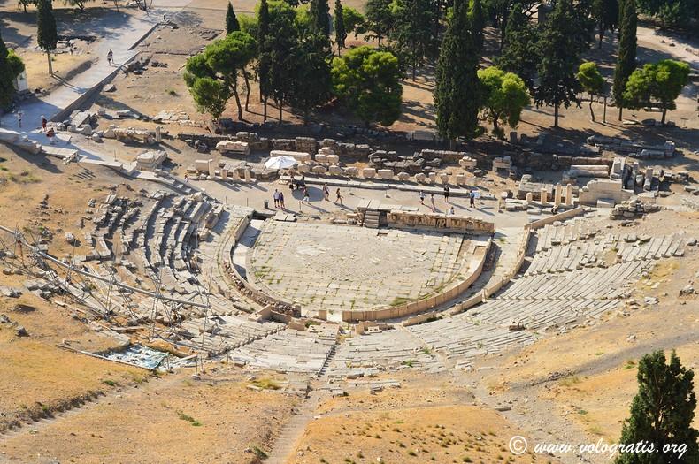 teatro dioniso atene acropoli