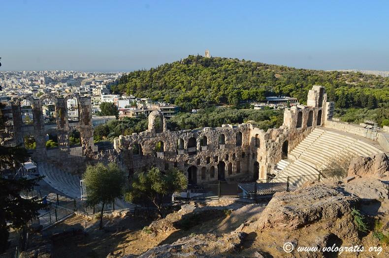 teatro erode attico acropoli atene