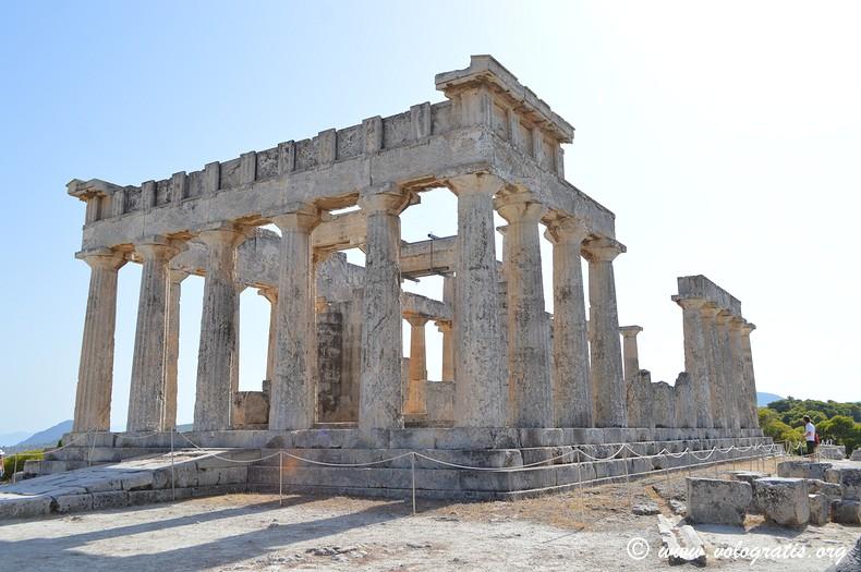 tempio aphaia egina
