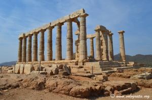 tempio poseidone capo sounio grecia