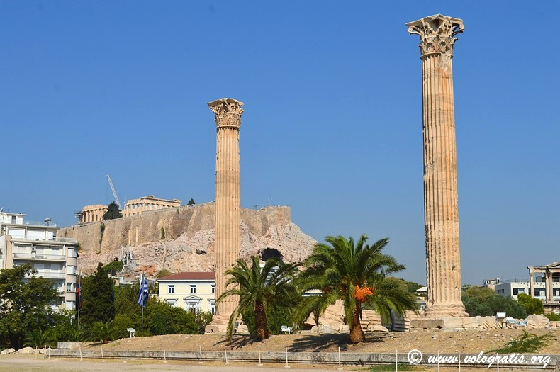 tempio zeus partenone atene