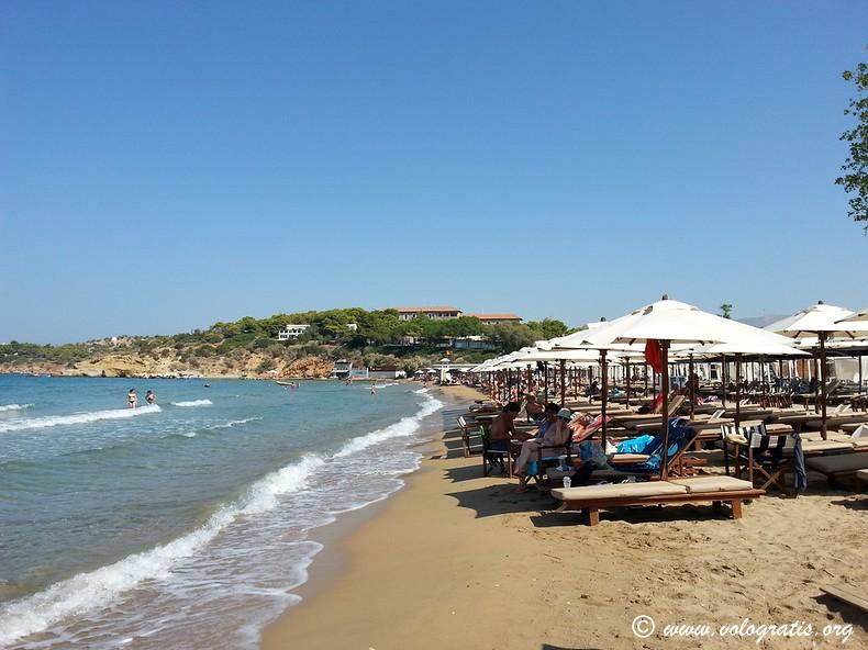 vouliagmeni astir beach