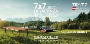 concorso vacanza austria team7