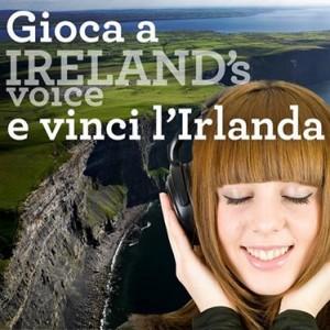 concorso ireland's voice turismo irlandese