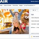 E' online il nuovo sito web Ryanair