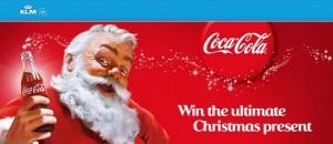 concorso natale coca cola klm