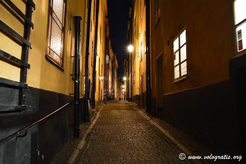 gamla stan night stockholm