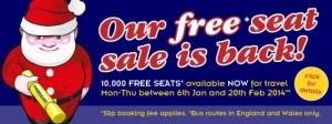 megabus biglietti gratis