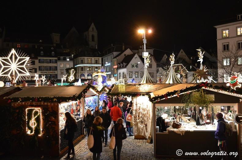 mercatino di natale barfusserplatz basilea