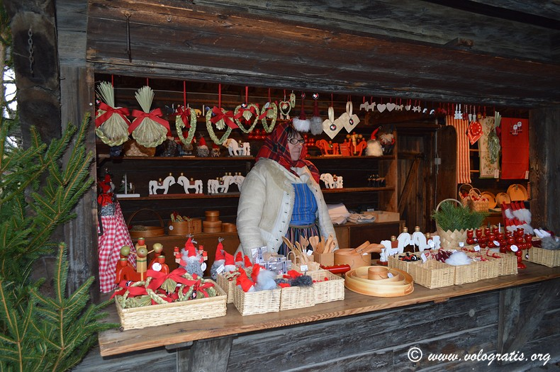 mercatino natale skansen stoccolma