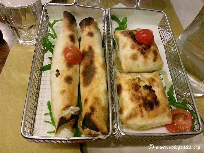 canottini e strufolini acqua e farina roma testaccio