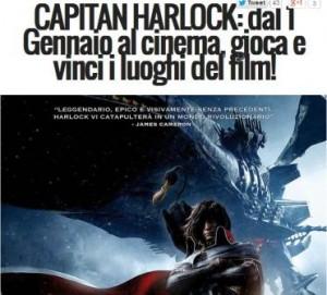 concorso capitan harlock rds viaggio giappone