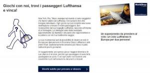 concorso lufthansa passeggeri in tour