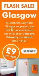 promo easyhotel glasgow