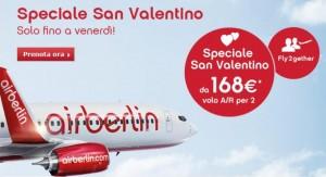 air berlin promozione speciale san valentino