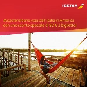 sconto iberia #solofansiberia