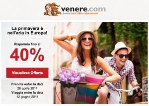 venere.com offerta di primavera