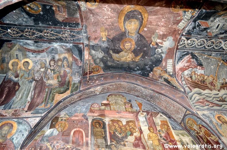 affreschi monastero san giovanni patmos