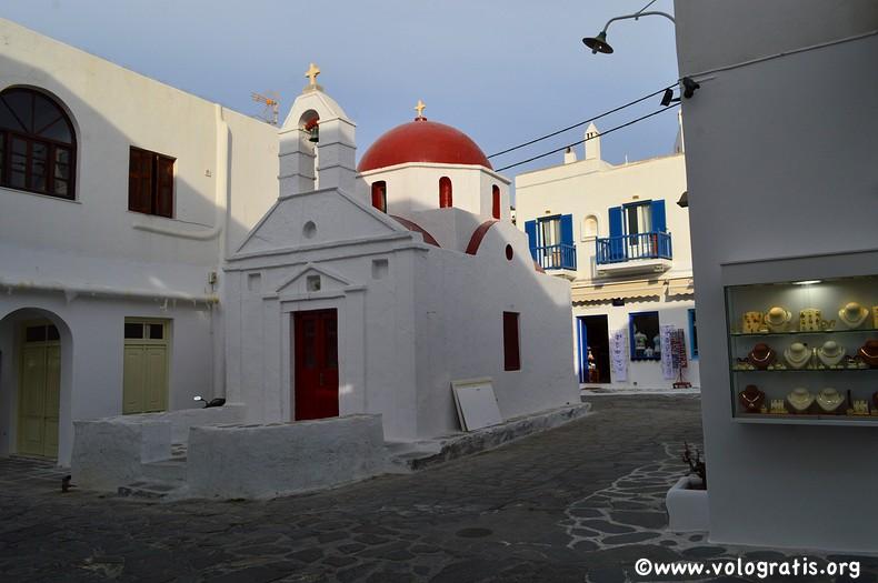 chiesa bizantina mykonos