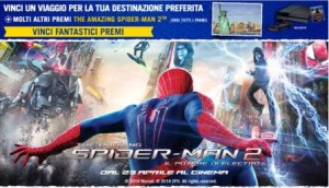 concorso edreams spiderman