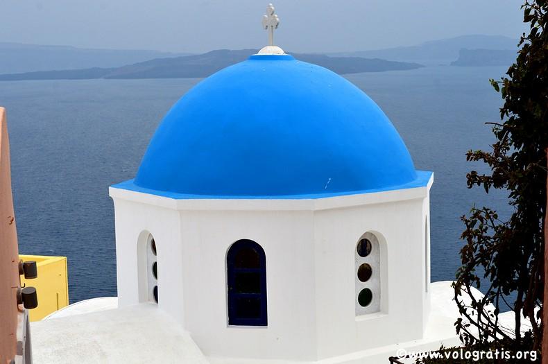 cupola blu santorini