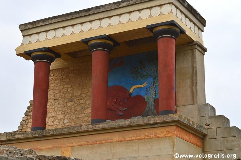il palazzo di minosse a creta
