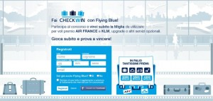 concorso checkwin flying blue