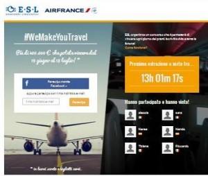 concorso esl air france