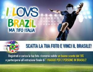 concorso per vincere un viaggio in Brasile