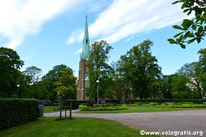 cosa visitare a goteborg hagakyrkan