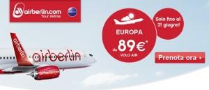 promozione airberlin estate 2014